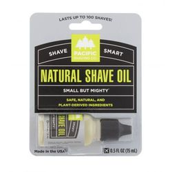 Pacific Shaving Co. Shave Smart Natural Shave Oil żel do golenia 15 ml dla mężczyzn