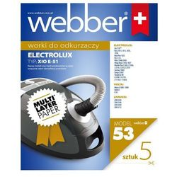 Worek do odkurzacza WEBBER 53 (5 sztuk)