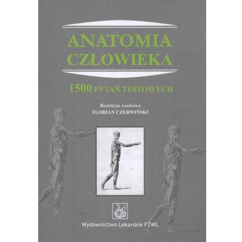 Książki medyczne, Anatomia człowieka. 1500 pytań testowych (opr. miękka)
