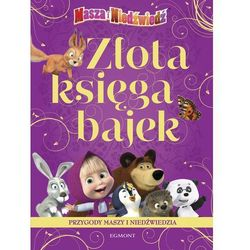 Złota księga bajek Przygody Maszy i Niedźwiedzia (opr. kartonowa)