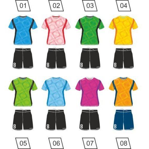 Piłka nożna, Strój piłkarski Colo Figure + nadruk gratis
