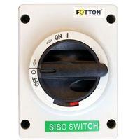 Baterie słoneczne, Rozłącznik izolacyjny - wyłącznik FOTTON SISO 16A 800V DC w obudowie IP66