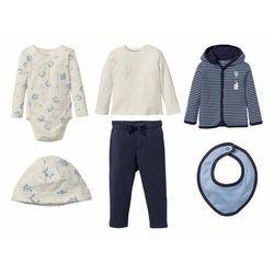 LUPILU® Zestaw niemowlęcy 6-częściowy (bluza, bo