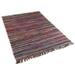 Dywan ciemnokolorowy 160x230 cm krótkowłosy - chodnik - bawełna - DANCA
