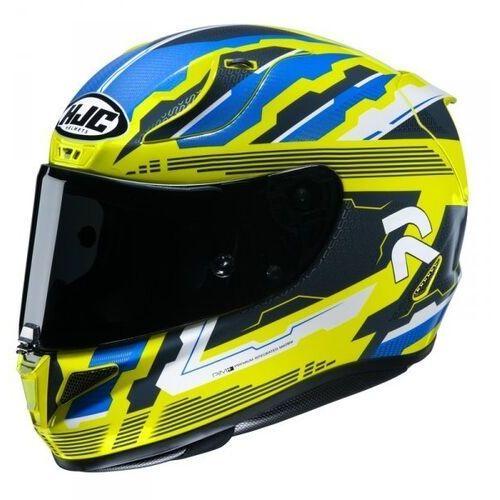 Kaski motocyklowe, Hjc kask integralny r-pha-11 stobon yellow/blue