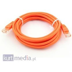 Qoltec Kabel Patchcord CROSSOVER, CAT5E 5.0m