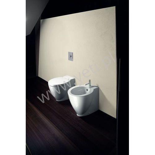 Catalano zero plus stojące białe miska wc vpzg + bidet bizg