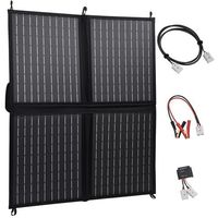 Baterie słoneczne, VidaXL Składana ładowarka słoneczna, 80 W, 12 V