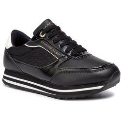 Sneakersy TOMMY HILFIGER - Tommy Retro Branded Sneaker FW0FW04305 Black 990