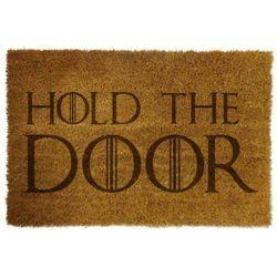 """Wycieraczka z napisem """"HOLD THE DOOR"""""""