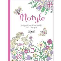 Hobby i poradniki, Kolorowanki dla dorosłych Motyle - Praca zbiorowa (opr. miękka)