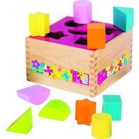 Pozostałe zabawki, Sortowanie, pudełko w kwiatki, 10 el., Susibelle