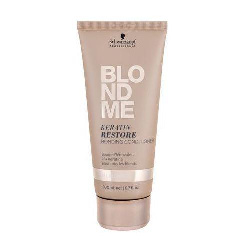 Odżywianie włosów, Schwarzkopf Professional Blondme keratynowy odżywka odbudowujący do wszystkich typów włosów blond (Keratin Restore Bonding Conditioner) 200 ml