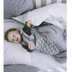 Śpiworek niemowlęcy pikowany Milky Grey Muzpony 80 cm