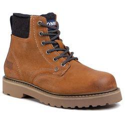 Trapery TOMMY JEANS - Lace Up Mens Tommy Jeans Boot EM0EM00534 Texas Plains KBT