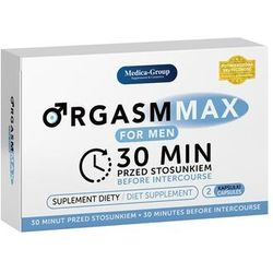 OrgasmMax for Men-2 kapsułki