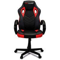 Fotele dla graczy, Fotel gamingowy PAGANI czerwony PRO-GAMER dla graczy