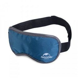 NATUREHIKE Opaska na oczy TRAVEL EYE MASK LAVENDER - kolor niebieski