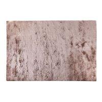 Dywany, Dywan shaggy DOLCE szarobrązowy z beżowym połyskiem - poliester - 200 * 290 cm