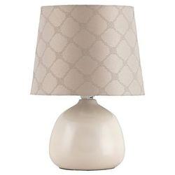 Lampa lampka stołowa Rabalux Ellie 1x40W E14 beżowy 4380