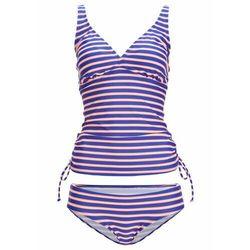 Biustonosz bikini na fiszbinach bonprix czarno-biały