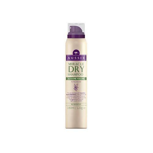 Mycie włosów, Aussie Aussome Volume suchy szampon do włosów cienkich i delikatnych (Australian Jojoba Seed Extract) 180 ml