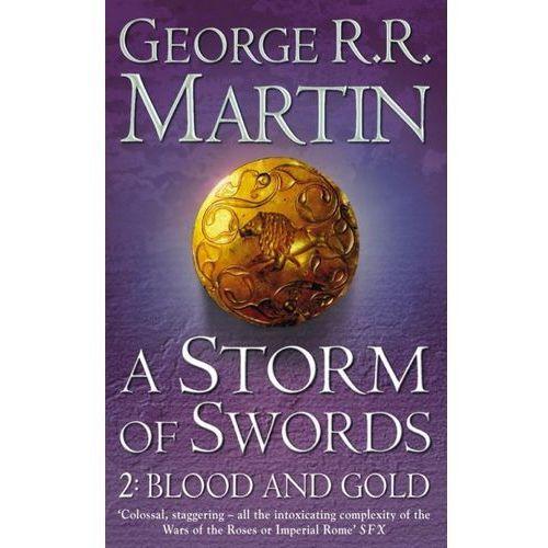 Książki do nauki języka, A storm of swords 2 : blood and gold (opr. miękka)
