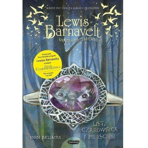 Literatura młodzieżowa, Lewis Barnavelt na tropie tajemnic List, czarownica i pierścień. Darmowy odbiór w niemal 100 księgarniach! (opr. broszurowa)