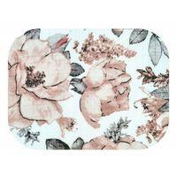 Pieluchy tetrowe, Pieluszka tetrowa, wielorazowa, kolorowa we wzorki kwiaty, peonie 100% bawełna Ega