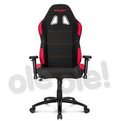 Akracing Gaming Chair K7012 (czarno-czerwony) - produkt w magazynie - szybka wysyłka!