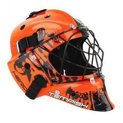 Maska bramkarska unihokej Tempish Hero pomarańczowa tempish (-15%)