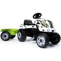 Traktory dla dzieci, Rower dla dzieci Traktor XL Krówka Smoby