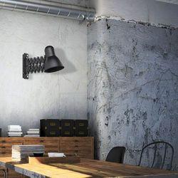 LAMPA ścienna HARMONY 9890 Nowodvorski industrialna OPRAWA na wysięgniku KINKIET harmonijka loft czarna