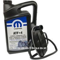 Filtry oleju do skrzyni biegów, Olej MOPAR ATF+4 oraz filtr automatycznej skrzyni biegów NAG1 Lancia Thema 2011-
