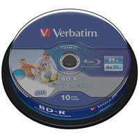 Płyty CD, DVD, Blu-ray, Płyta VERBATIM BD-R Printable SL Datalife