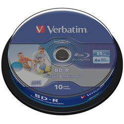 Verbatim BD-R 6x 25GB 10P CB DataLife Printable 43804
