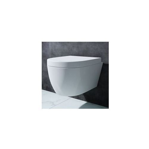 LAURA RIMLESS Miska WC wisząca + deska duroplast wolnoopadająca, laura_rimless_miska_deska_duroplast