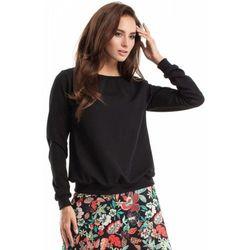 Moe MOE265 Bluza, sweter ze ściągaczem czarna
