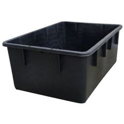 Pojemnik do ustawiania w stos z polietylenu, kształt stożkowy,poj. 160 l