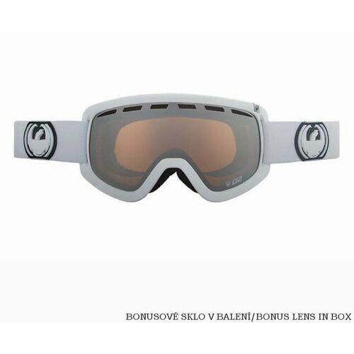 Kaski i gogle, gogle snowboardowe DRAGON - D2 Powder Ionized + Amber (POWDER)