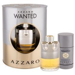 Azzaro Wanted woda toaletowa 100 ml + dezodorant w sprayu 150 ml