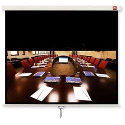 AVTek Ekran ścienny ręczny Cinema 200, 16:9, 200x200cm, powierzchnia biała, matowa