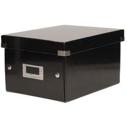 Pudełko C&S uniwersal małe czarne Leitz