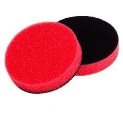 NAT średnio miękka gąbka polerska 50mm czerwona