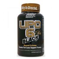 Redukcja tkanki tłuszczowej, NUTREX Lipo 6 Black Hers 120 kaps.
