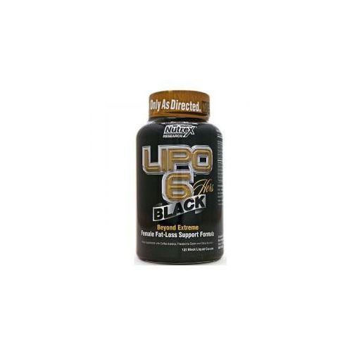 Redukcja tkanki tłuszczowej, Nutrex Lipo 6 Black Hers 120 kaps