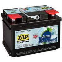 Akumulatory samochodowe, Akumulator ZAP Standard 60Ah 520A niska PRAWY PLUS