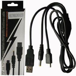 KABEL USB + ŁADOWANIE DO PSP 2 in 1