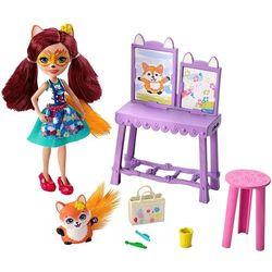Mattel Enchantimals tematyczny zestaw Art studio