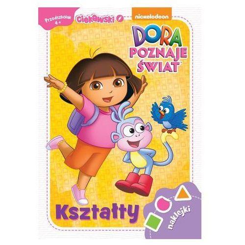Bajki, Dora poznaje świat Kształty 4+ Ciekawski przedszkolak - Ameet